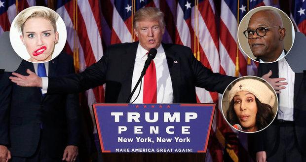 Celebrity slibovaly, že pokud se stane prezidentem Trump, emigrují z USA.