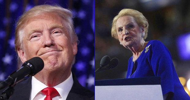 Trump chce vést soupis muslimů. Albrightová se protestně přihlásí k islámu