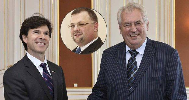 """Zeman se omluvil za Schapira a Hrad svalil kiks na Forejta. Ten má """"hysterák"""""""