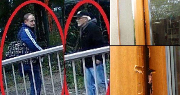 Dvojice mužů se chtěla vloupat do rodinného domu na Proseku. Krádež jim zhatila majitelka domu.