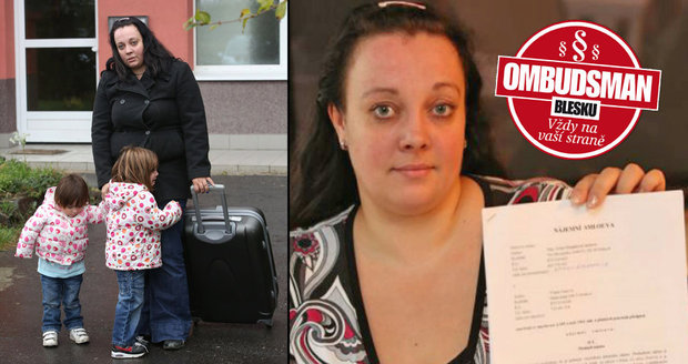 Těhotnou matku dvou dětí vykopla majitelka z bytu kvůli nedoplatku: Jak se může bránit? Ombudsman Blesku radí