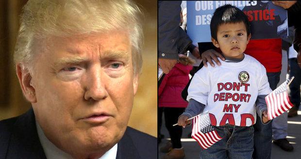 Trump si určil priority: Vyhostíme 3 miliony uprchlíků a bude i zeď