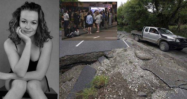 Češka o zemětřesení na Novém Zélandu: Lidé utíkali jen v pyžamu, země se stále chvěje