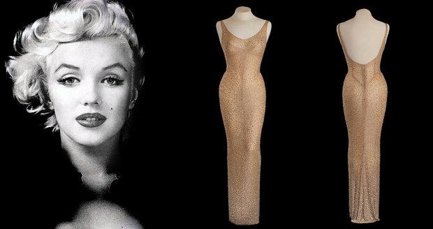 f6aafc0d2c2c Šaty slavné Marilyn Monroe se vydražily za rekordní částku.