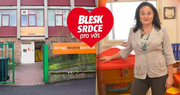 Zora Dušková je už 16 let ředitelkou Dětského krizového centra.