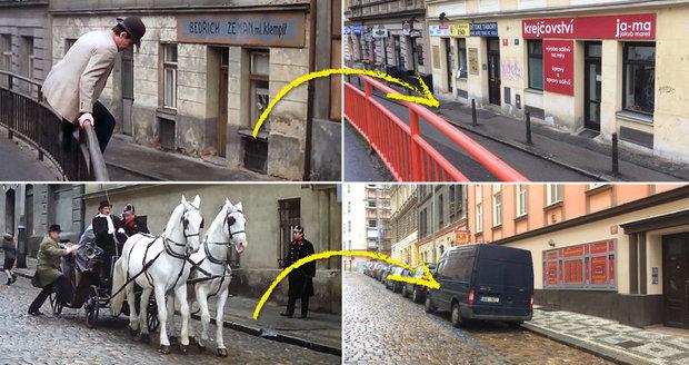 Takto se proměnila místa, kde v 80. letech natáčeli film Fešák Hubert.