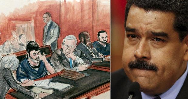 Synovci první dámy Venezuely pašovali drogy, rozhodl soud