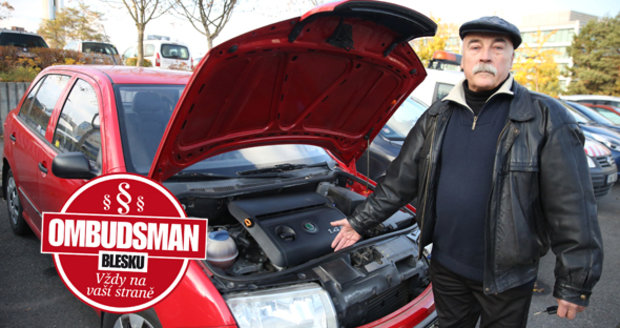 Důchodce pan Stanislav Klofanda si pořídil auto, aby mohl s přítelkyní jezdit na chalupu. Autobazar mu poskytl při nákupu roční záruku na skryté vady. Pár týdnů po vypršení termínu začalo auto zlobit.