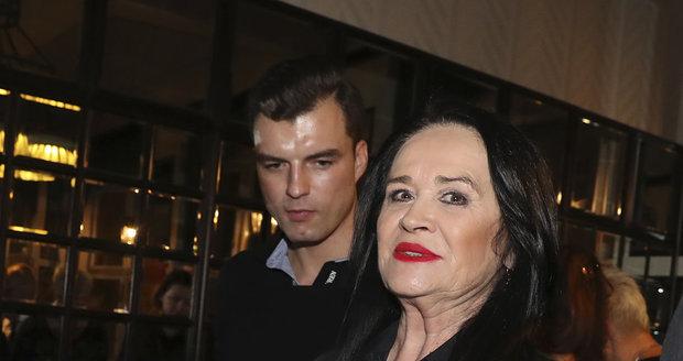 Hana Gregorová s Ondřejem Koptíkem