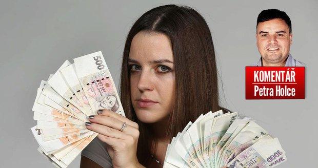 Komentář: Češi jsou nejbohatší za 10 let, přesto pořád chudneme