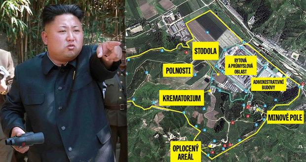 Kim Čong-un vylepšuje koncentráky: Popravené spaluje v obří peci
