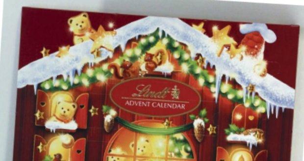 Lindt Teddy Adventní kalendář