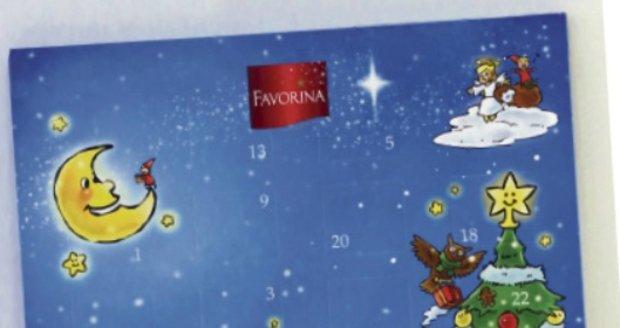 Favorina Adventní kalendář
