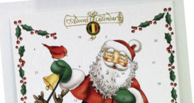 Adventní kalendář Belgická čokoláda