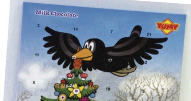 Yumy Little Mole Mléčná čokoláda