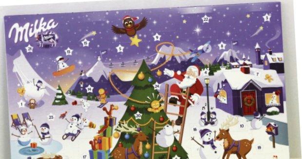 Milka Adventní kalendář