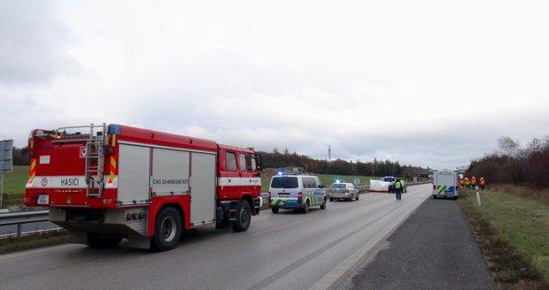 Nehoda uzavřela dálnici D4 (ilustrační foto).