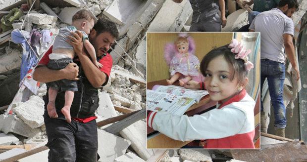 Bana (7) popisovala válku dětskýma očima, teď zmizela. Zabili ji v Aleppu?