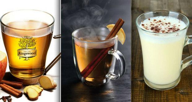 Zima je ideální dobou pro výborné teplé nápoje.