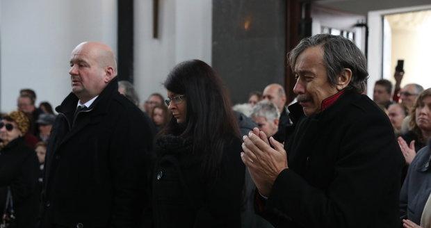 Pohřeb legendárního herce Františka Peterky
