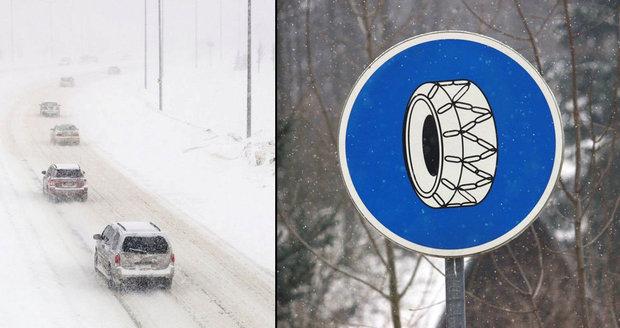 Manuál, který může zachránit život: Čtěte, než vyrazíte na zimní silnice