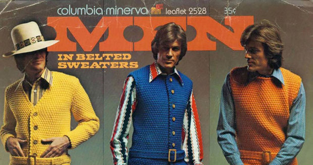 Módní katalogy v 70. letech byly plné sexy modelů
