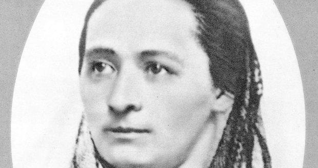 Slavná spisovatelka Božena Němcová