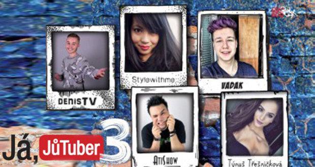 Recence: Chcete se stát hvězdou YouTube? Já, JůTuber 3 poradí, jak na to!