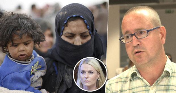 Arabista Bronislav Ostřanský: Islamofobní nálady nešíří jen extremisté, ale také politici zavedených stran.