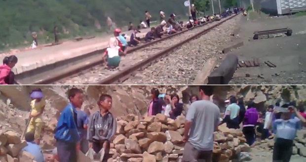 Nové záběry ze Severní Koreje unikly na internet: Otrocká dětská práce!