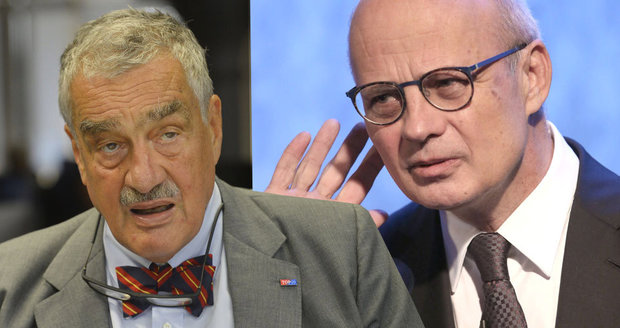 """Schwarzenberg o útoku Horáčka: """"Valchař"""" je zklamaný, že jsem ho nepodpořil"""