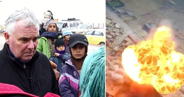 Matka tří dětí popsala útěk z Mosulu. Smrt tam každý den hrozí milionu lidí