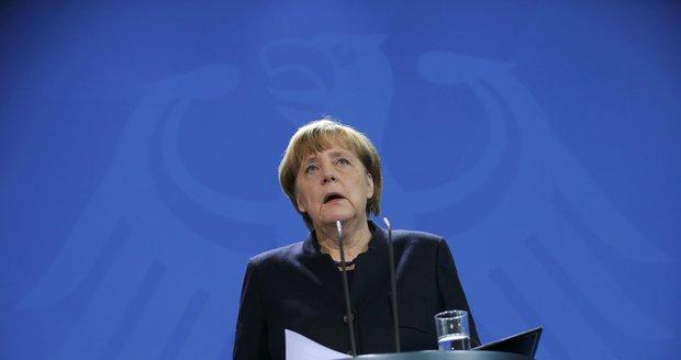 """Merkelová po smrti Amriho mluví o úlevě: """"Lidskost je silnější než teror."""""""