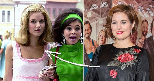 Zuzana Norisová se od filmu Rebelové výrazně změnila.