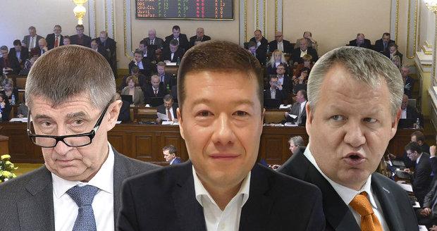 Sněmovní perličky 2016: Hluchý Babiš, imigrant Okamura a nezvěstný Němeček