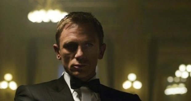 Daniel Craig v roli Jamese Bonda ve filmu Casino Royale