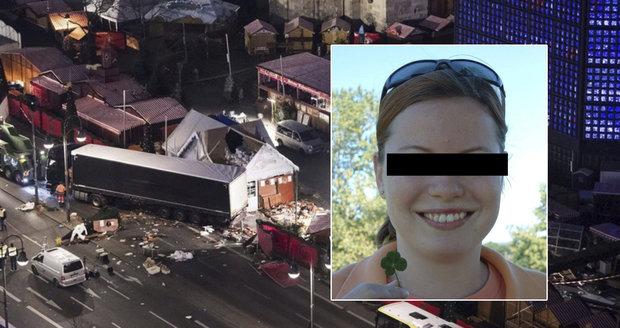 Při útoku v Berlíně zemřela i Češka Naďa. Až teď to potvrdily výsledky DNA testů