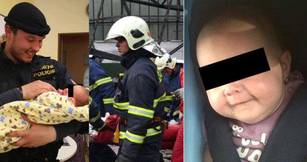 Kačenka, které pomáhali hasiči i policisté: Zemřela den před Štědrým dnem