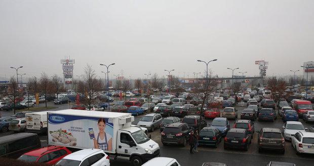 Parkoviště, ilustrační foto.