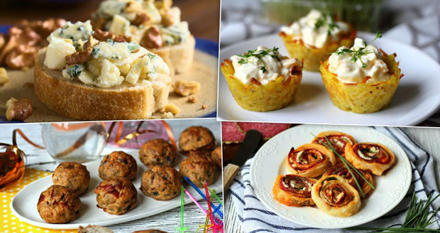 Vyzkoušejte zajímavé recepty na občerstvení na Silvestra.