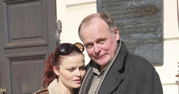 Igor Bareš s manželkou Antonií Talackovou