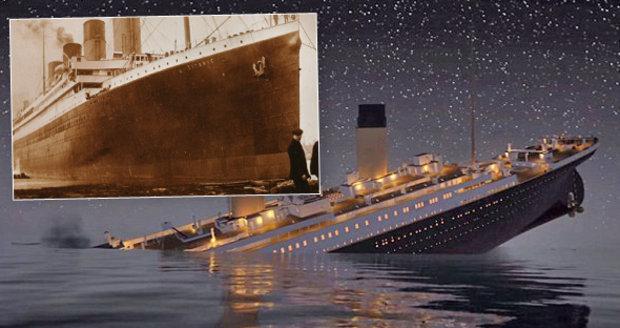 Šokující dokument: Zkázu Titaniku nezavinil ledovec, ale požár!