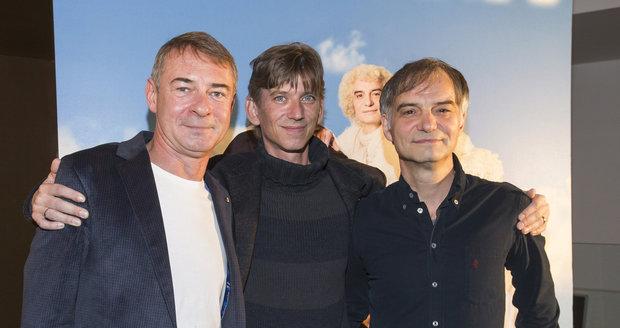 Jiří Dvořák, Jiří Strach a Ivan Trojan