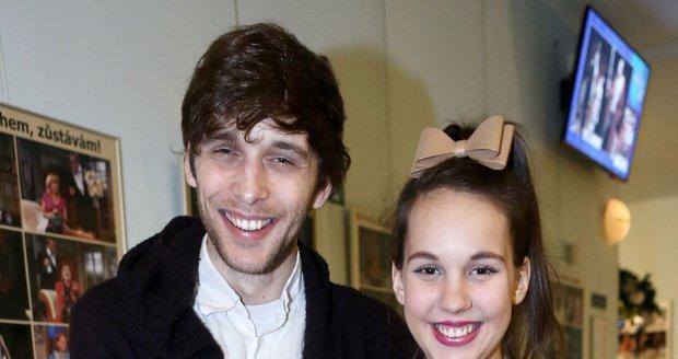 Míša s manželem Romanem Tomešem