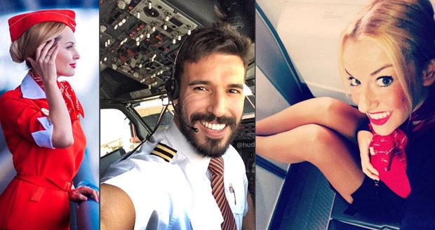 Nejvíc sexy piloti a letušky, které můžete potkat v oblacích.