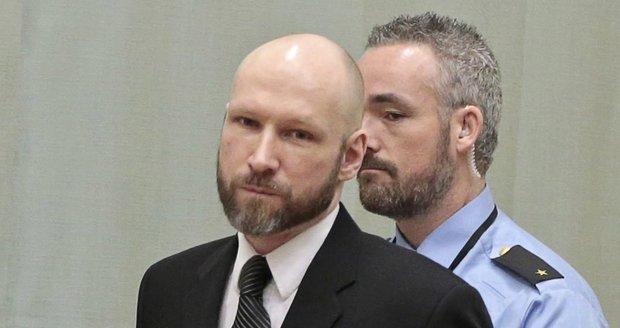 """""""VIP vězeň"""" Breivik si stěžoval na podmínky a izolaci za mřížemi. Ve Štrasburku pohořel"""