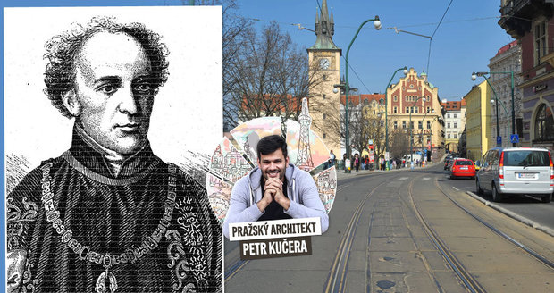 Hrabě Karel Chotek se významně zasloužil o rozvoj Prahy.