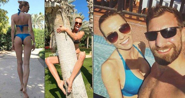Hana Reindesr předvedla v Dubaji luxusní postavu.