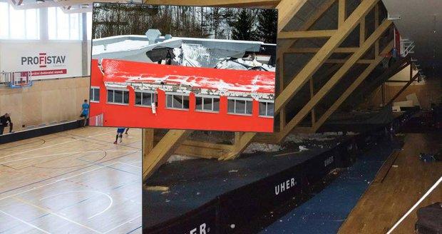 Kdo stavěl halu se spadlou střechou? Firma silně provázaná s Pardubickým krajem