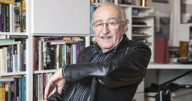 Režisér Juraj Herz (82) se raduje z miminka! Dali mu jméno akčního hrdiny